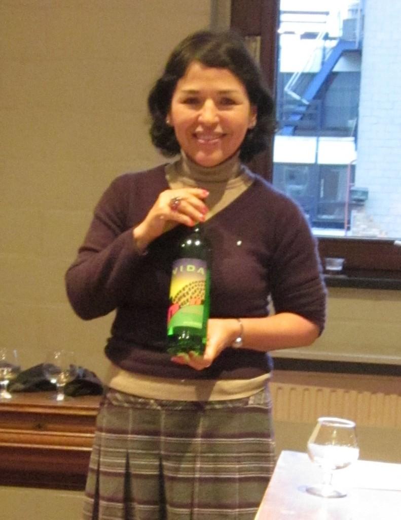 Tequila expert Ana Valenzuela
