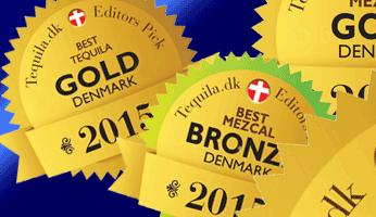 Top 3 Tequilas & Mezcals in Denmark 2015