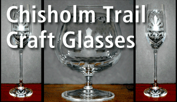 Chisholm Trail Craft Glasses