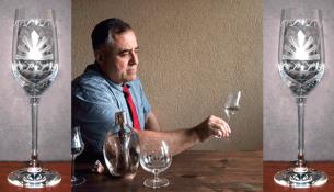 Hristov artisanal tequila glasses