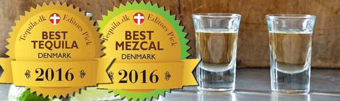 Awards for Top Tequila & Mezcal Brands in Denmark  2016