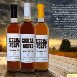 Sierra Norte Whisky. Good spirits from Oaxaca and a nice addition to the Caballeros portfolio