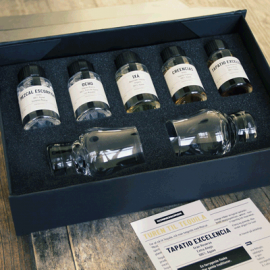 Tequila tasting box from Konnessøren
