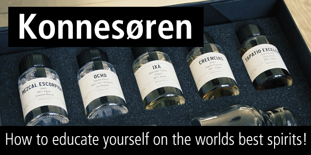Konnesøren - How to educate yourself on the worlds finest spirits