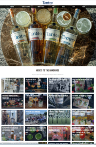Tanteo Tequila Website
